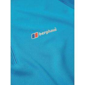 Berghaus Tech 2.0 Tee LS Zip Baselayer Herren adriatic/snorkel blue